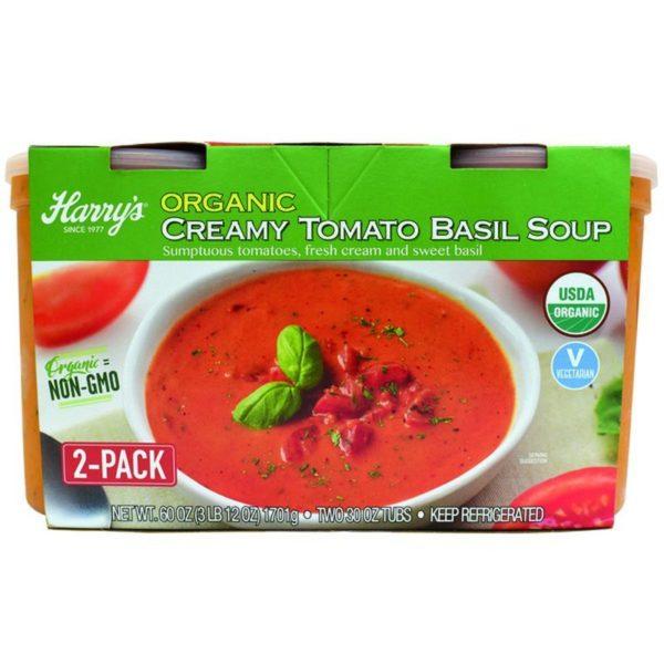 Harry's Organic Organic Creamy Tomato Basil Soup