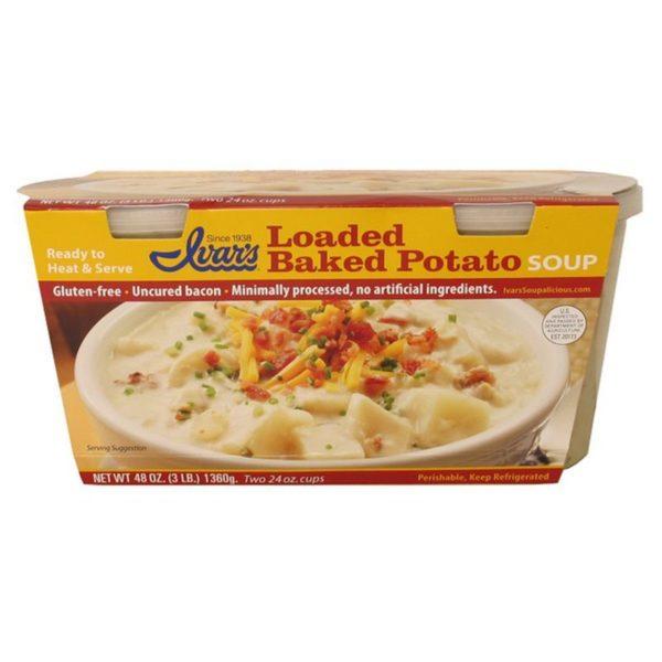 Ivar's Loaded Baked Potato Soup
