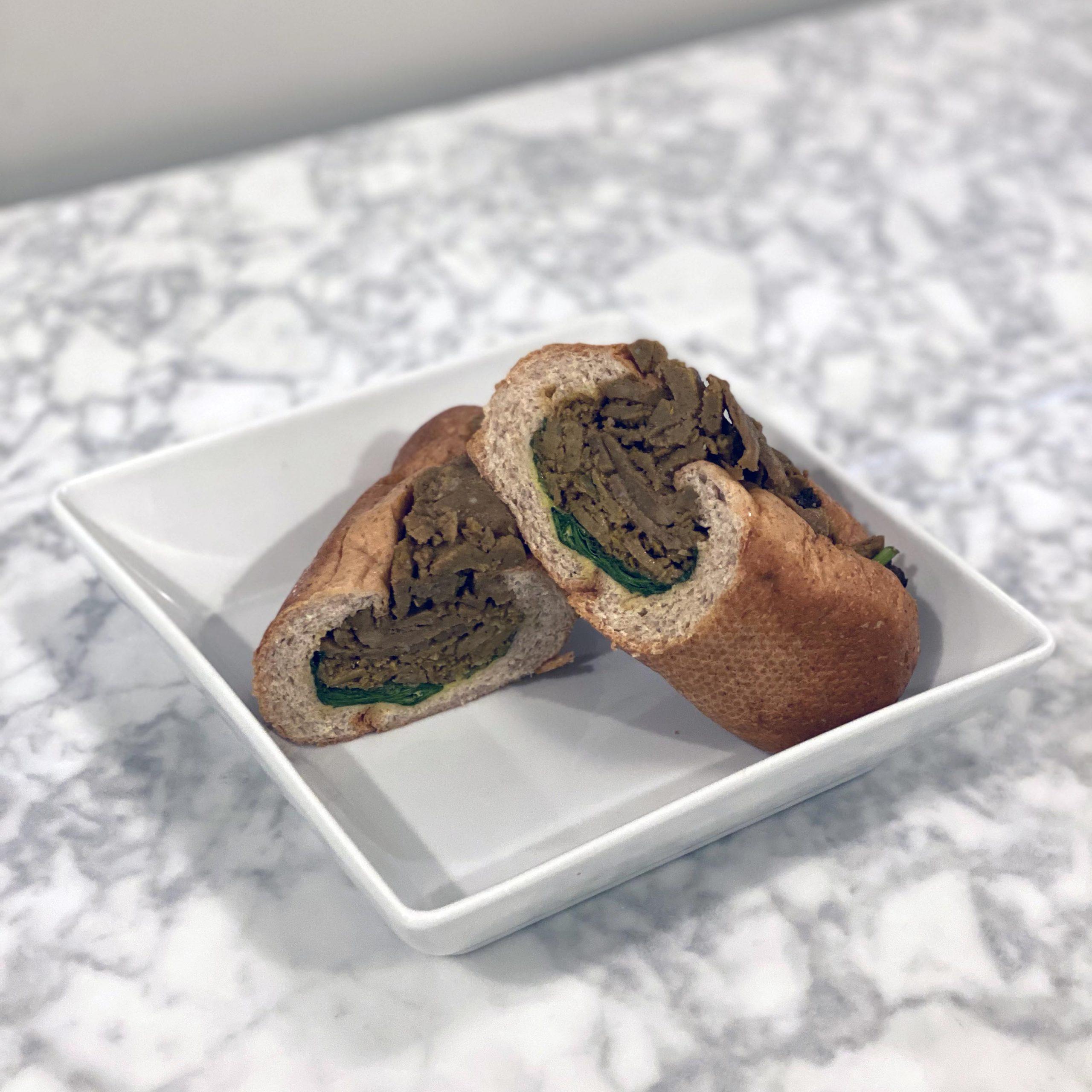 Shawarma Sub Plated Side