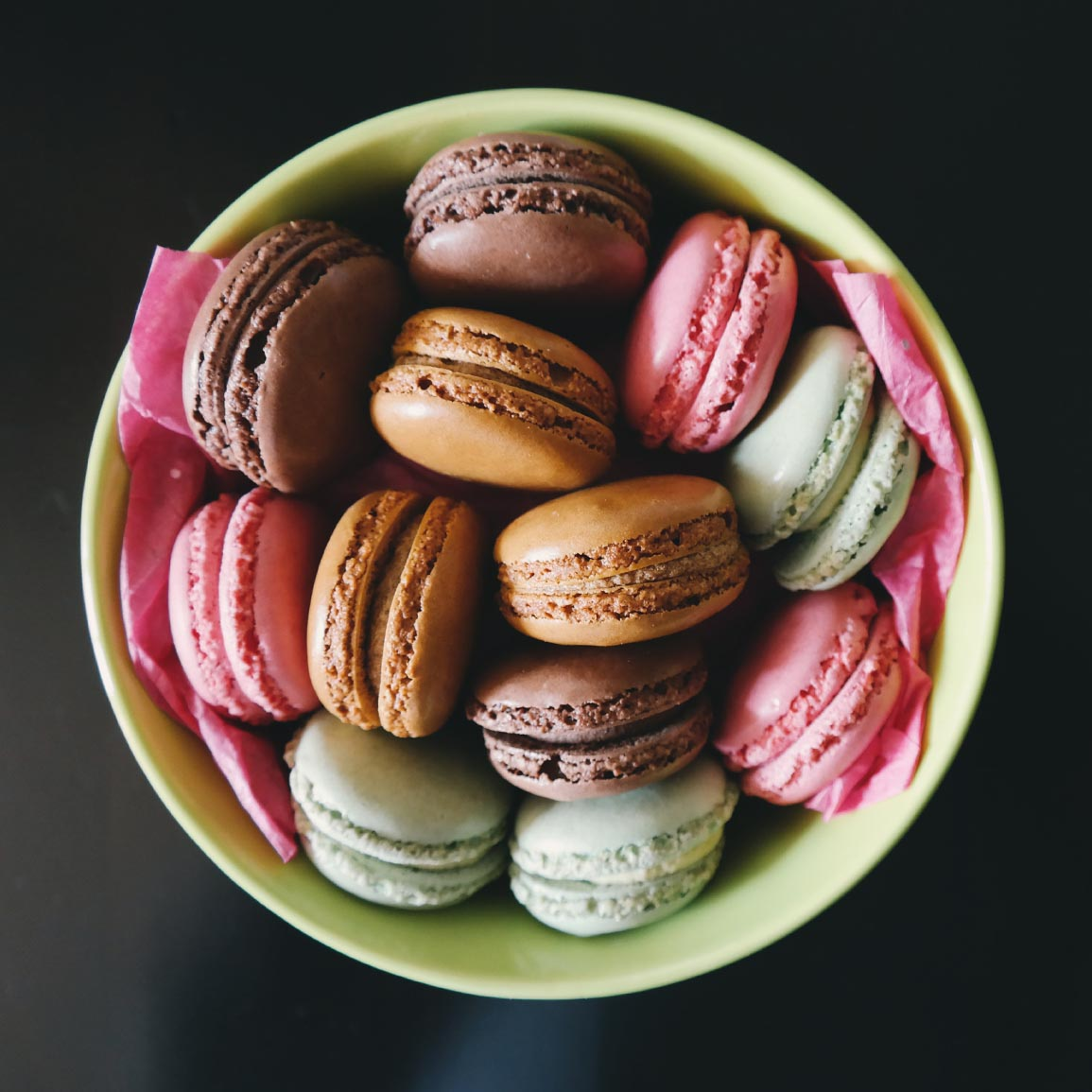 Tipiak French Macarons Plated Square