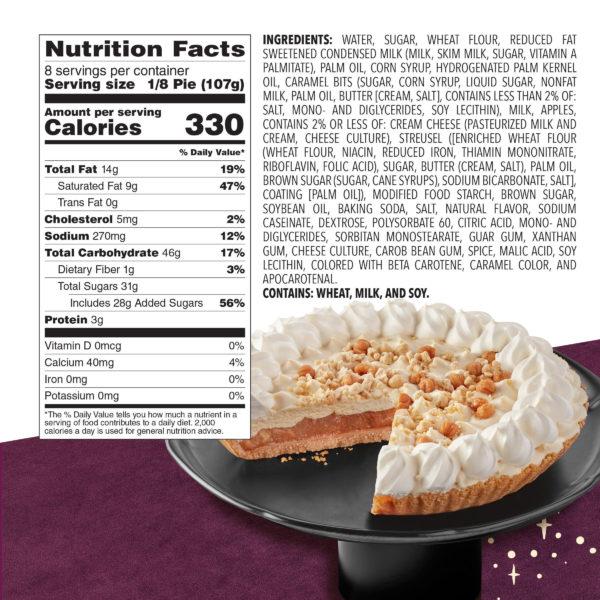 Caramel Apple Creme - Full Pie Back 2