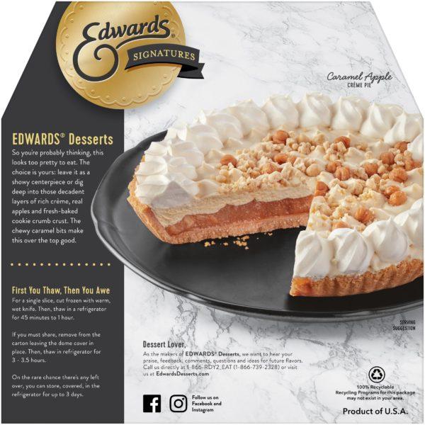 Caramel Apple Creme - Full Pie Back