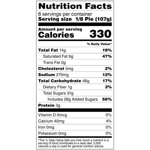 Caramel Apple Creme - Full Pie Nutrition