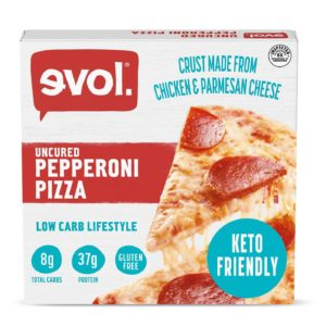 Evol Uncured Pepperoni Pizza