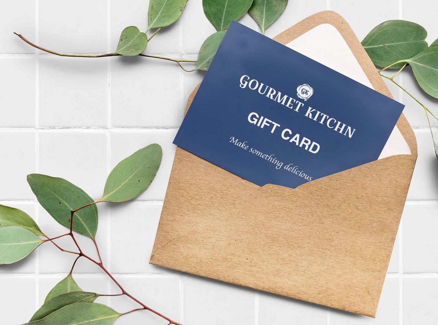Gourmet Kitchn – Gift Card