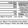 Beetnik Grass Fed Meatballs Nutrition