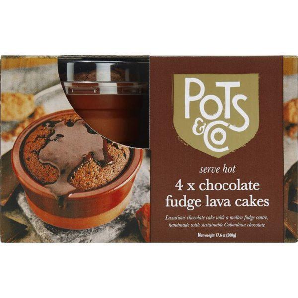 Pots & Co Chocolate Fudge Lava Cake