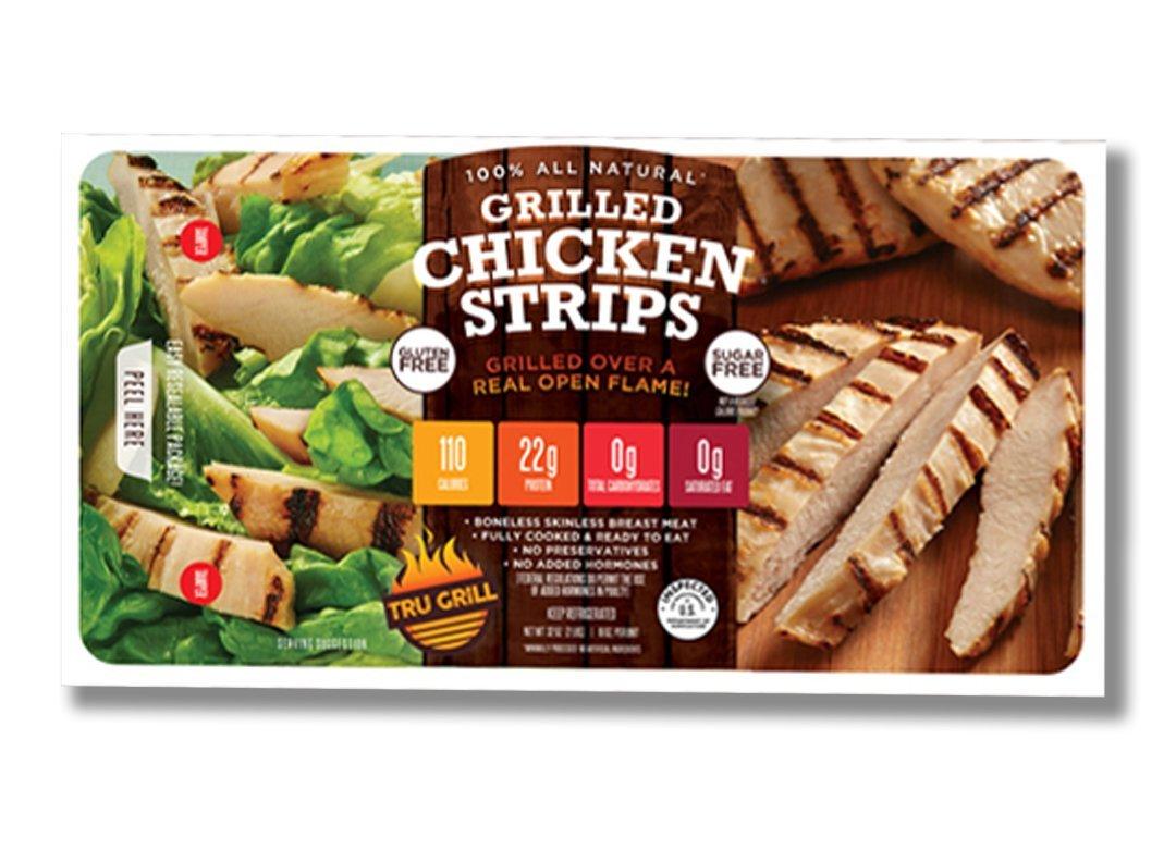Tru Grill Grilled Chicken Strips Front 1