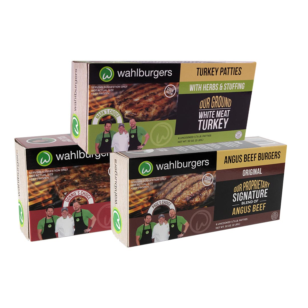 Wahlburgers Choice Patties Bundles Sqaure