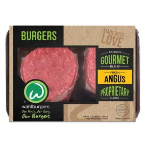 Wahlburgers Patties on White