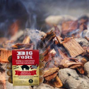 Big Fork Hickory and Applewood Sausage