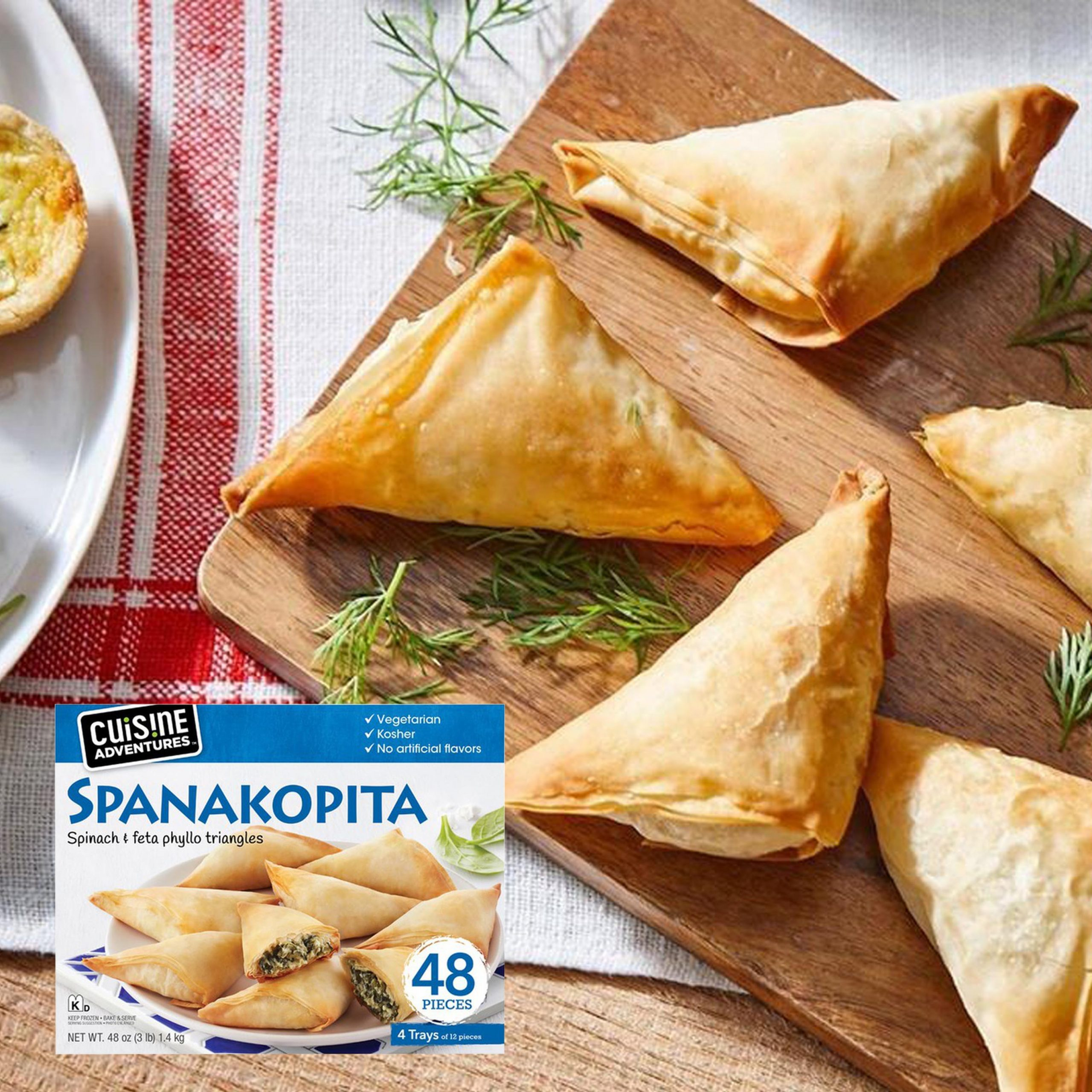 Cuisine Adventures Spanakopita Feature 2