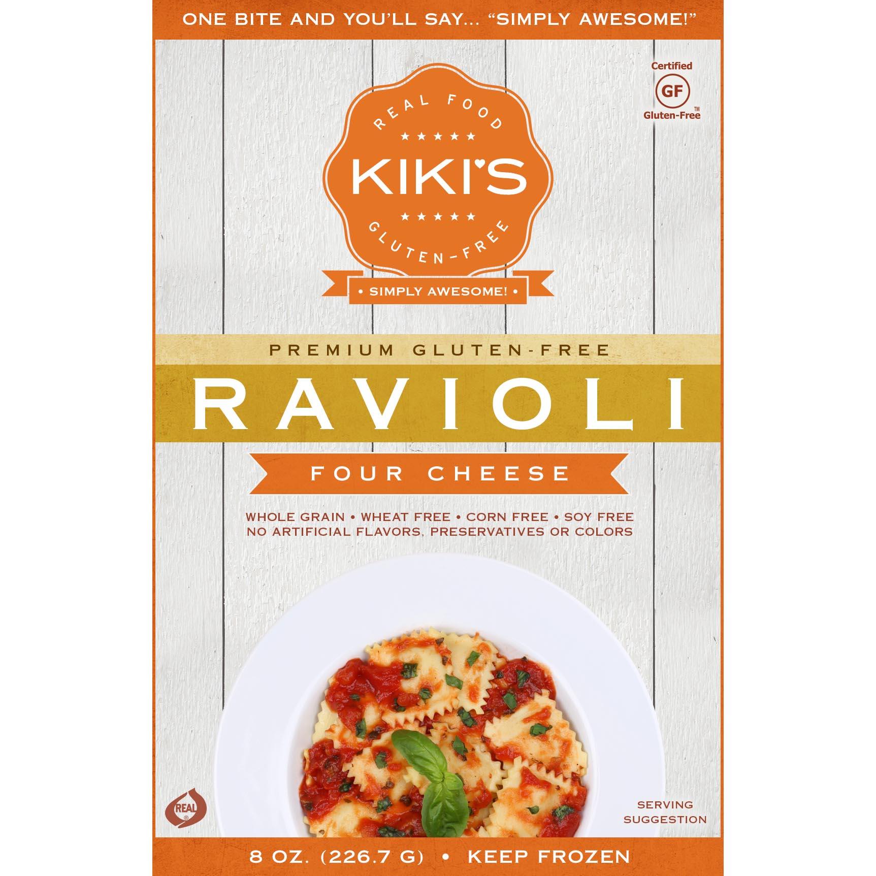 Kikis Ravioli Four Cheese Square