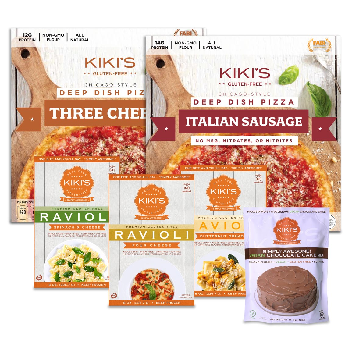 Kiki's Deep Dish Dinner Bundle