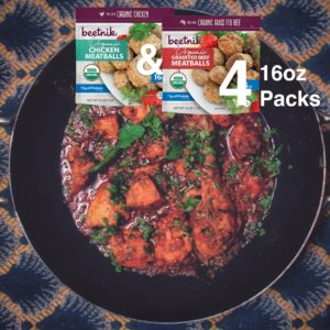 Meatballs Variety 4 Pack Plated New