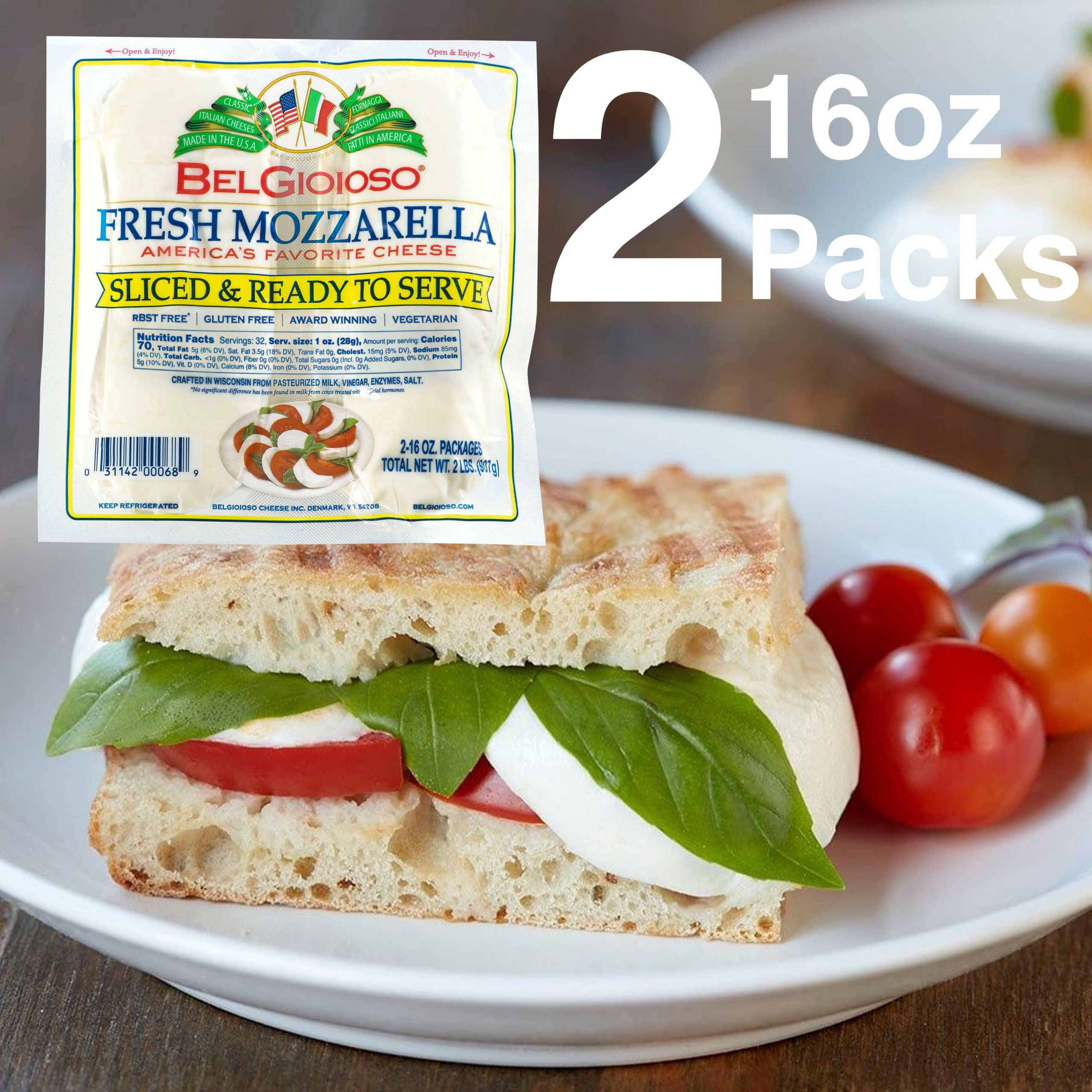 Mozzarella Slices with Tomatoes Feature V4