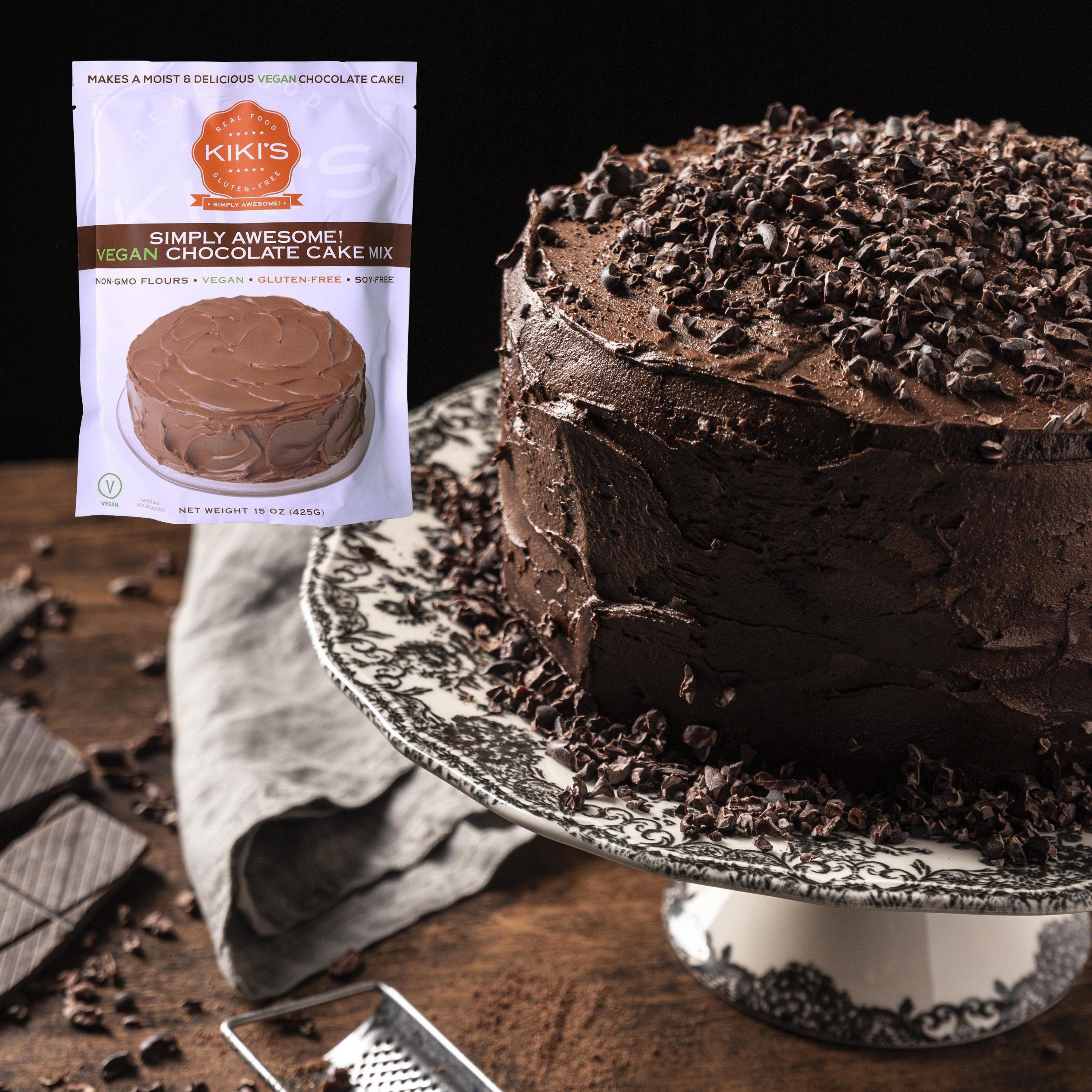 Plated Chocolate Cake 2