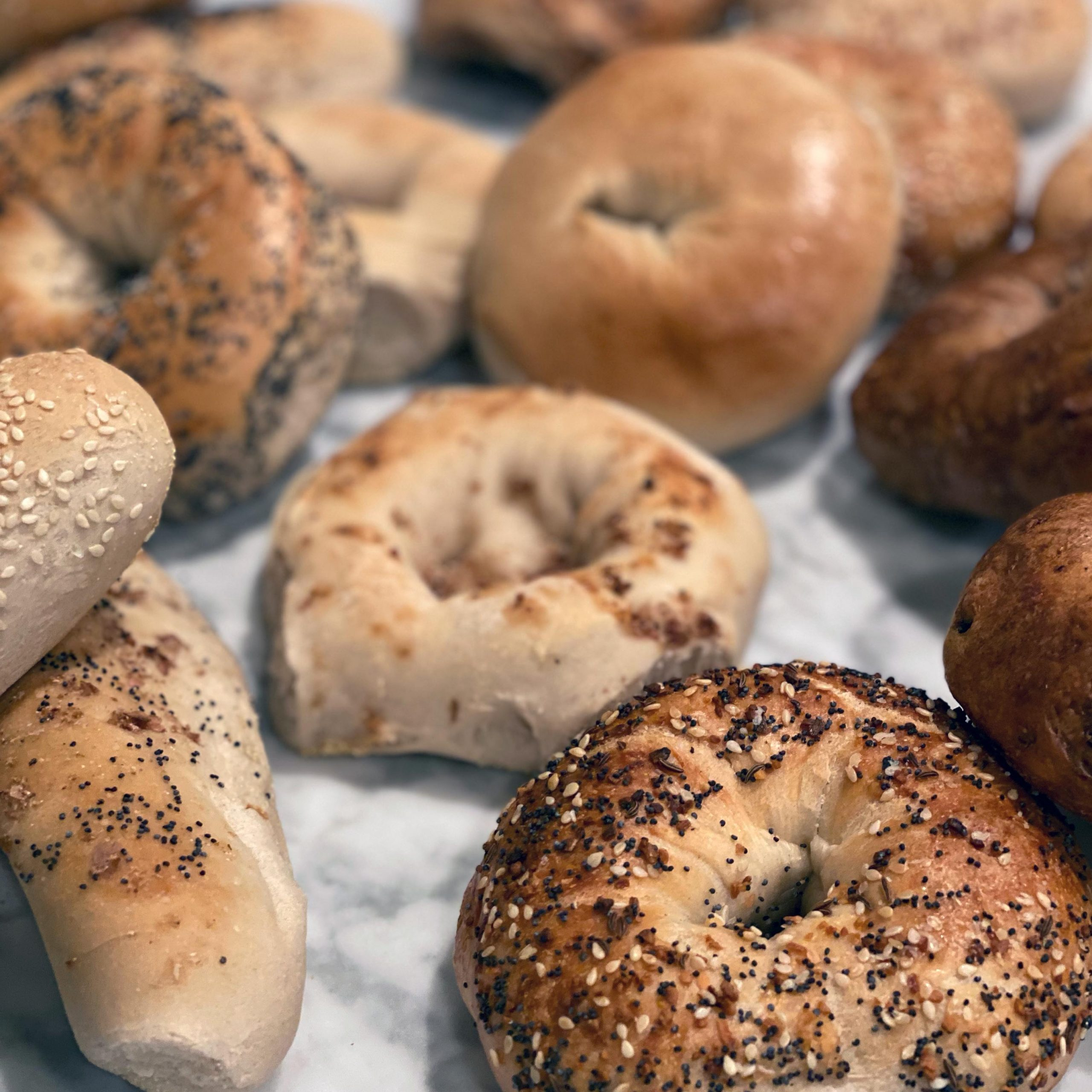 New York Bagel & Bialy Bagels Feature