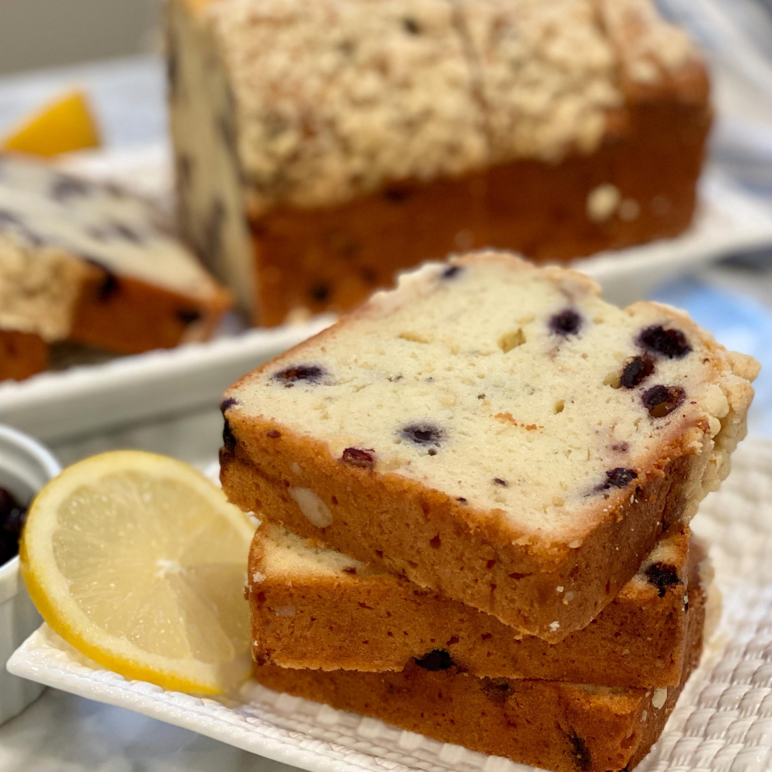 Blueberry Lemon Loaf 1