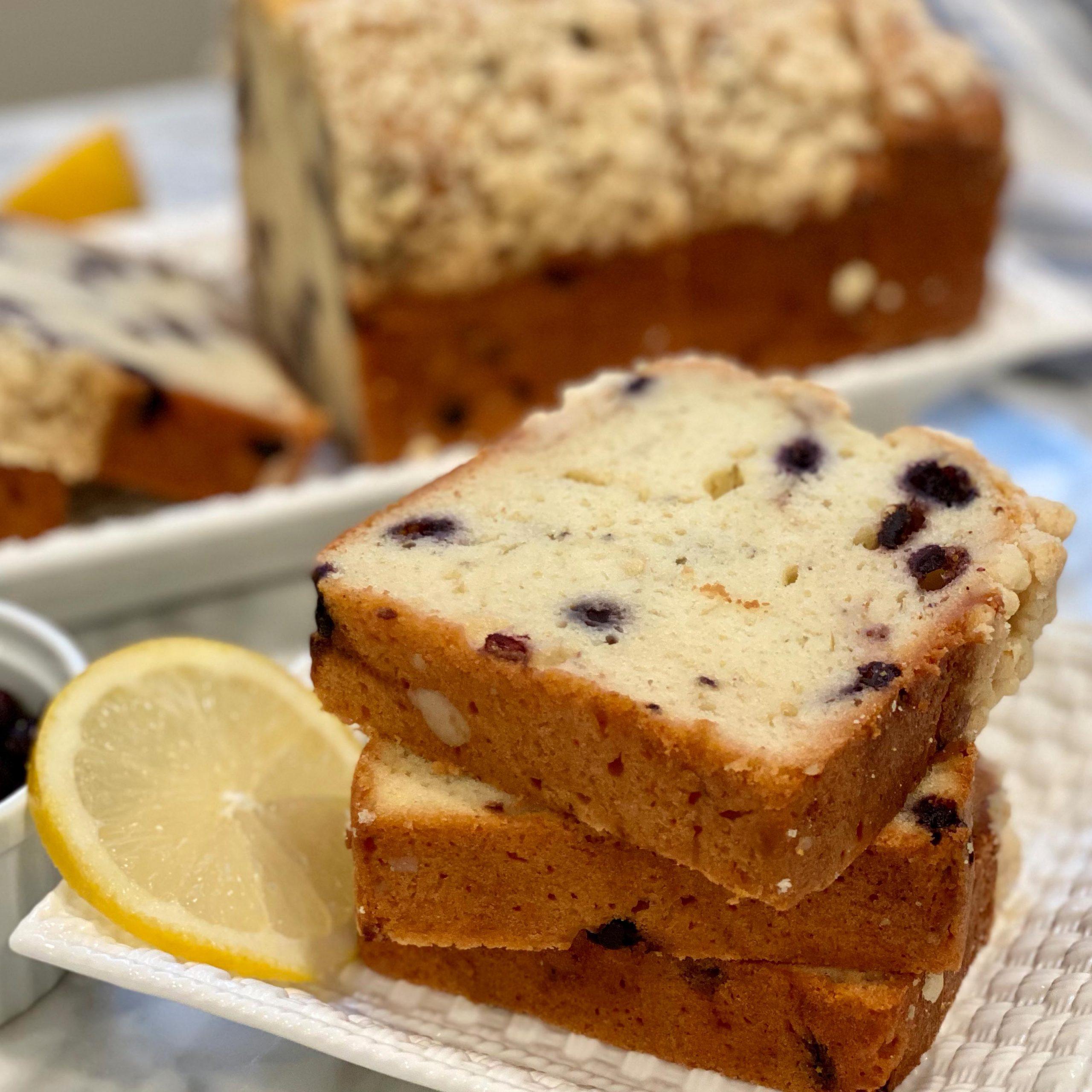 Blueberry Lemon Loaf 1