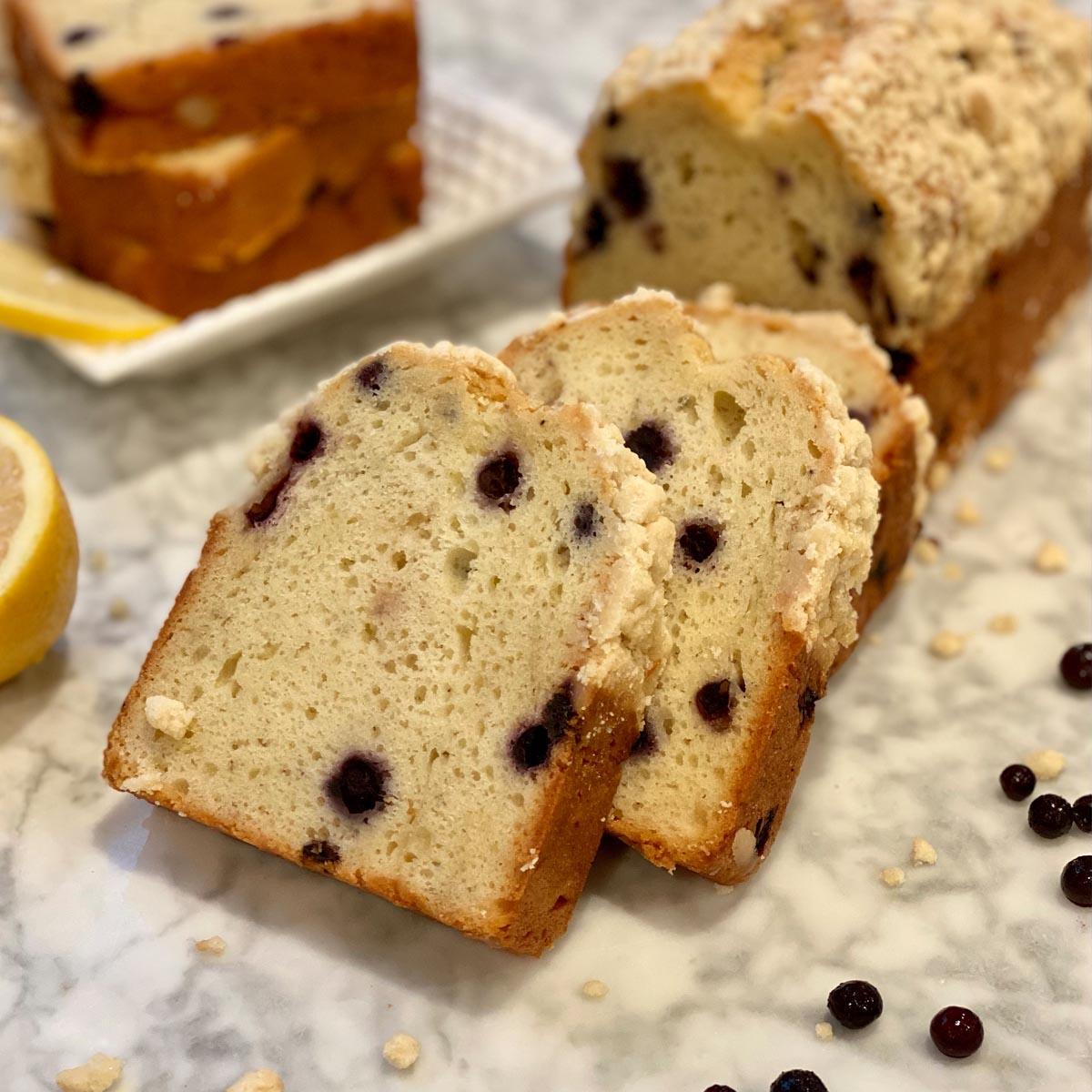 Blueberry Lemon Loaf 2