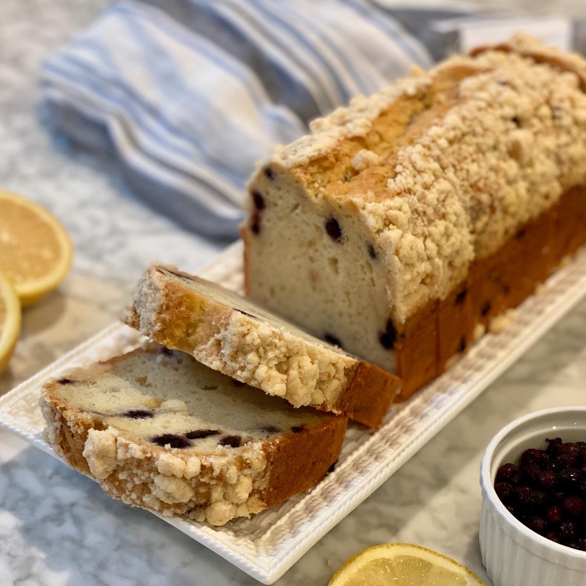 Blueberry Lemon Loaf 3