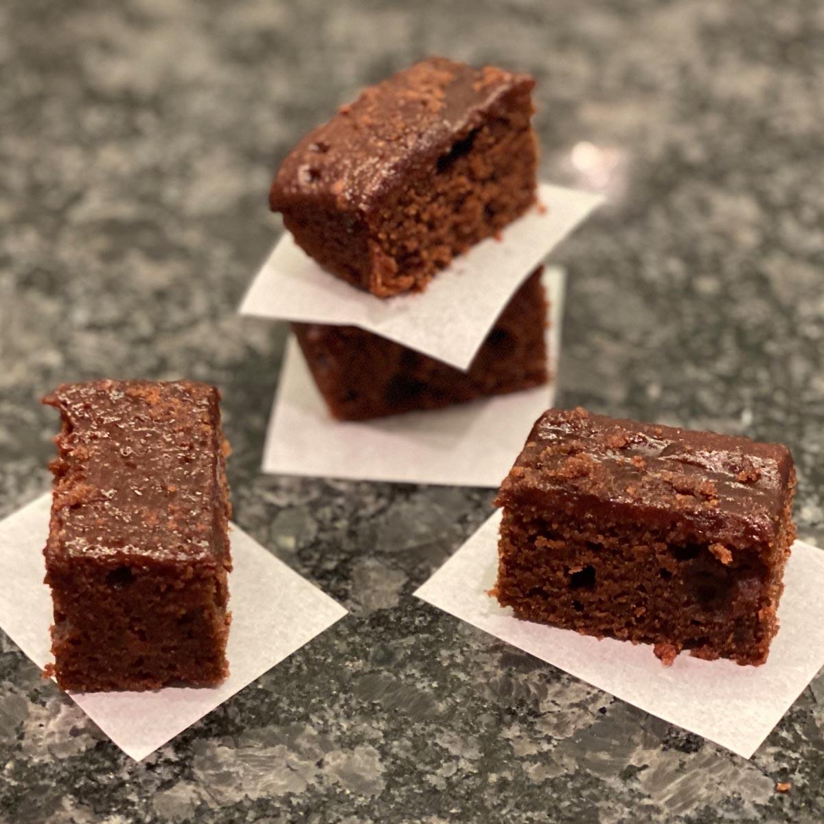 Brownie Cubes