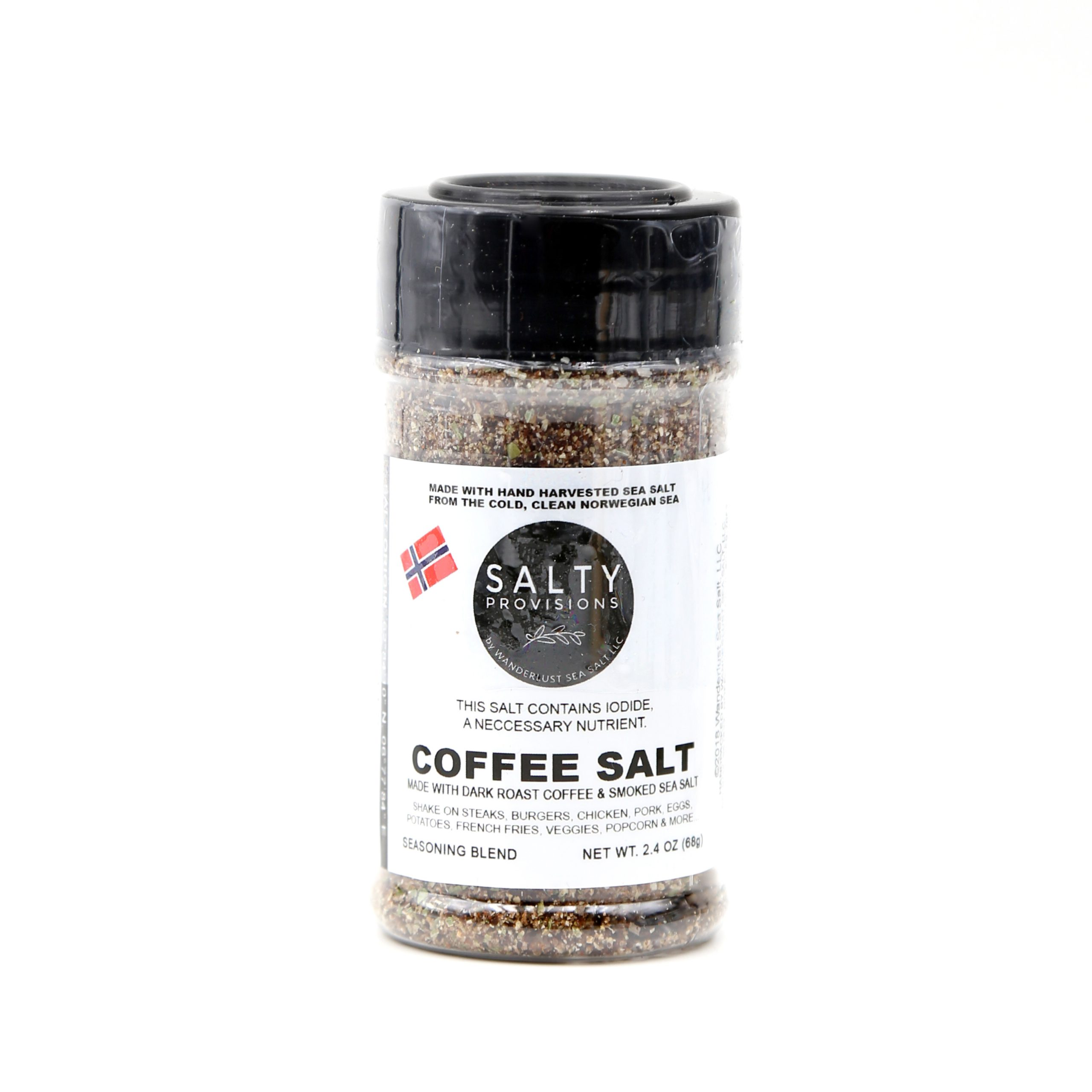 Wanderlust Sea Salt Coffee Salt