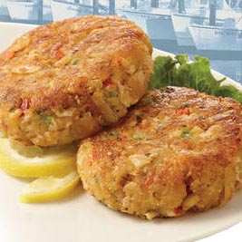 Soft Wave Crab Cakes