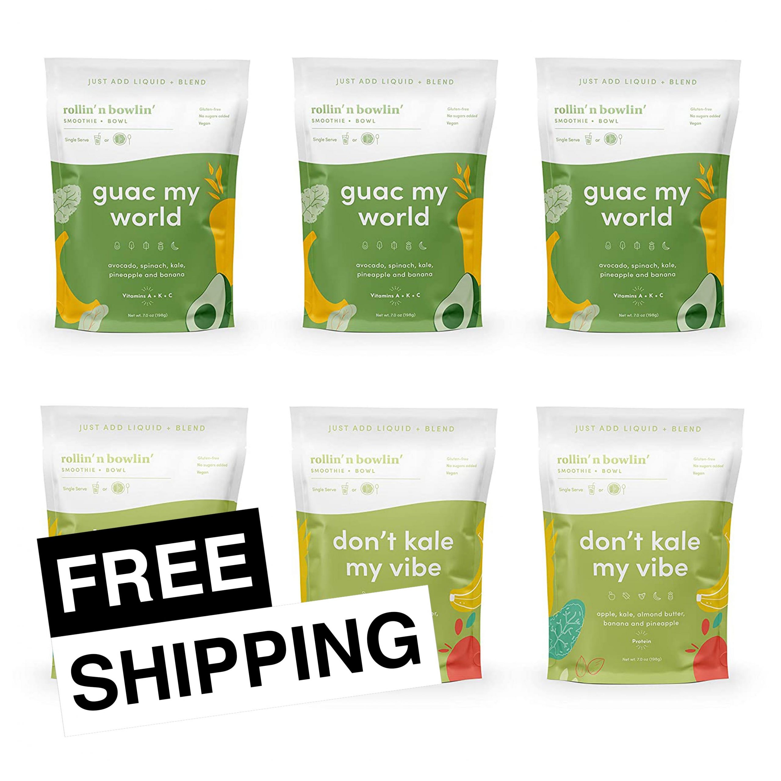 Greens Galore Free Shipping