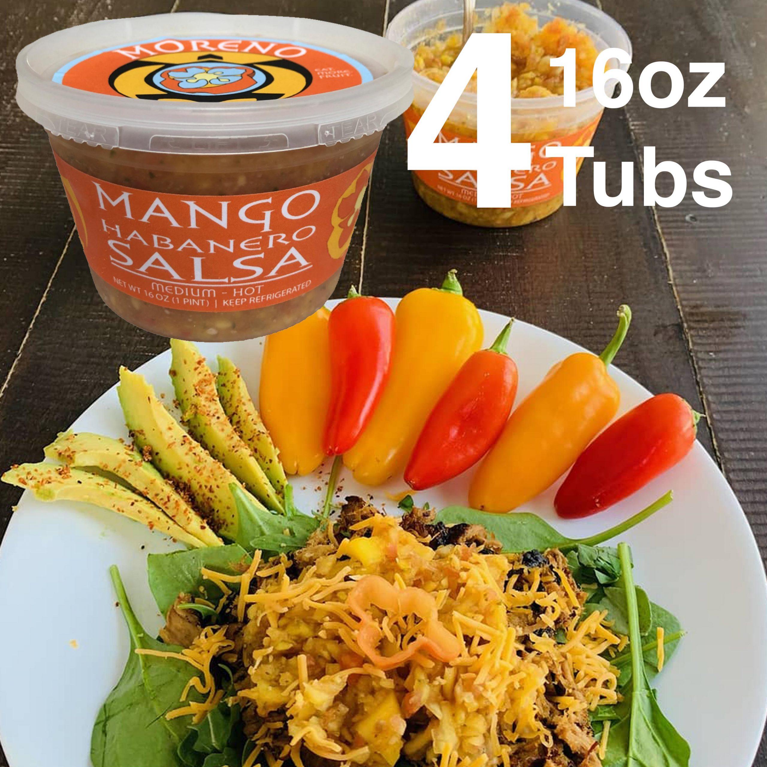 Mango Habanero Salsa 4 pack Feature