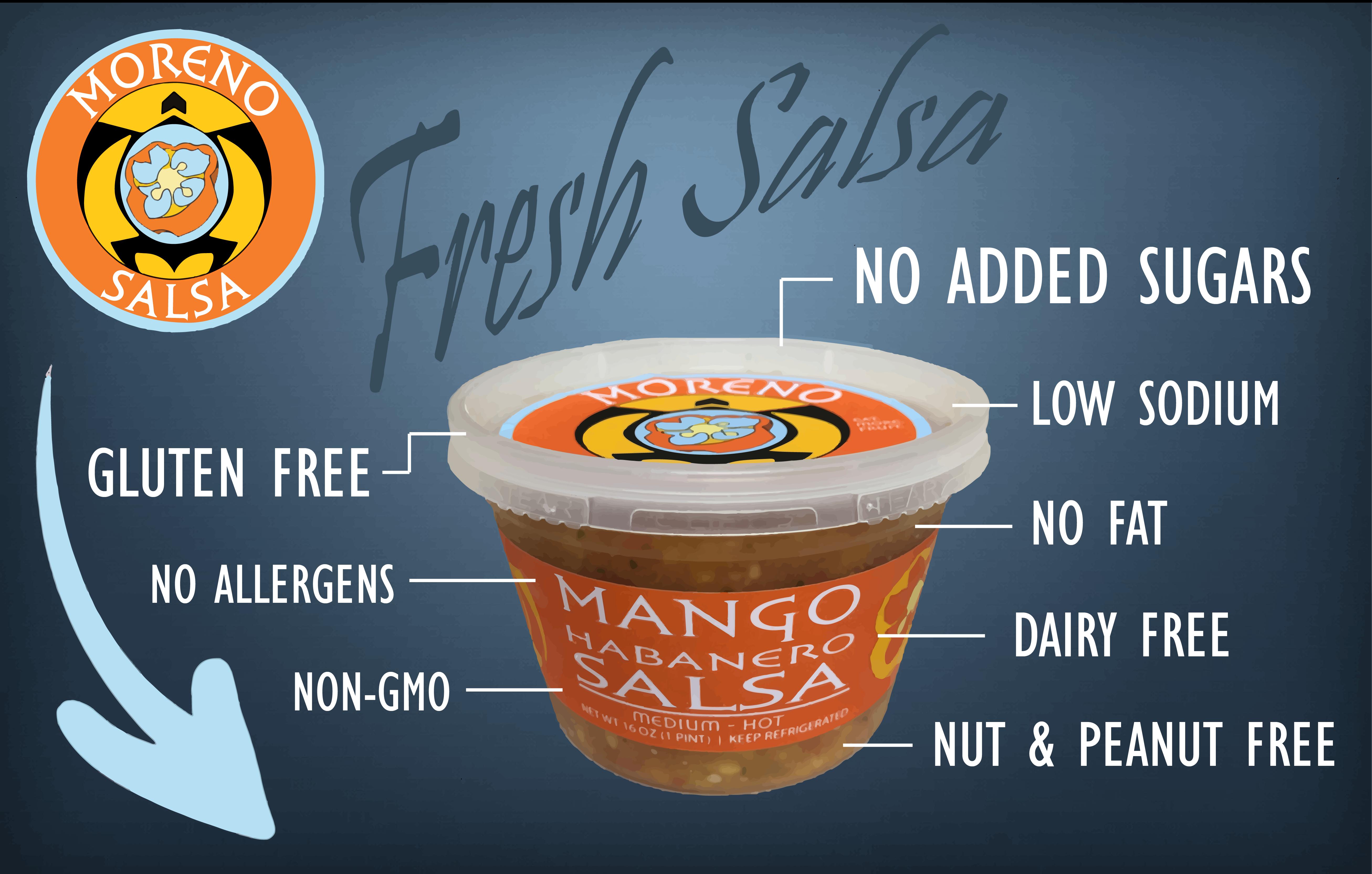 Mango Habanero salsa 2