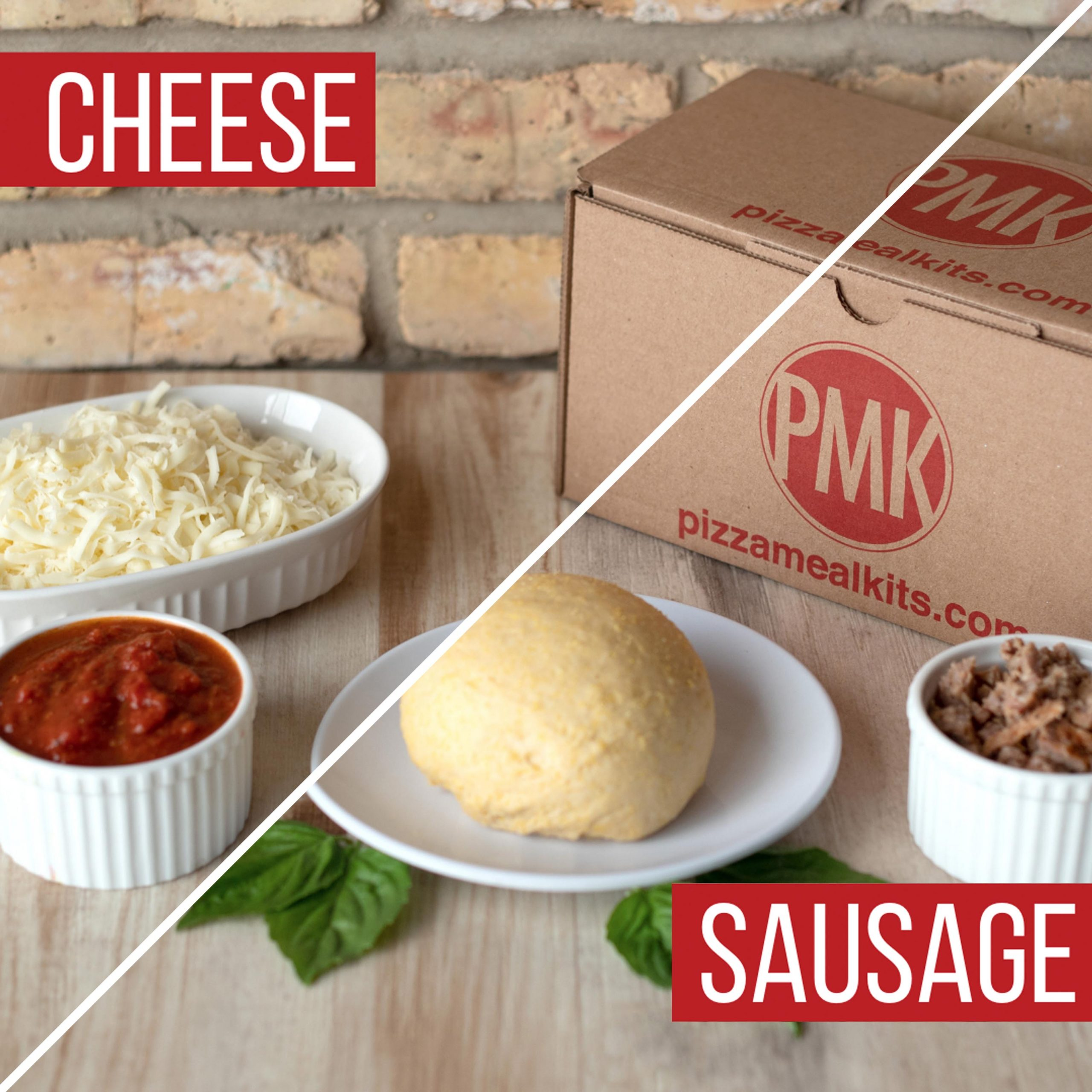 Pizza Meal Kits - Cheese & Sausage Bundle