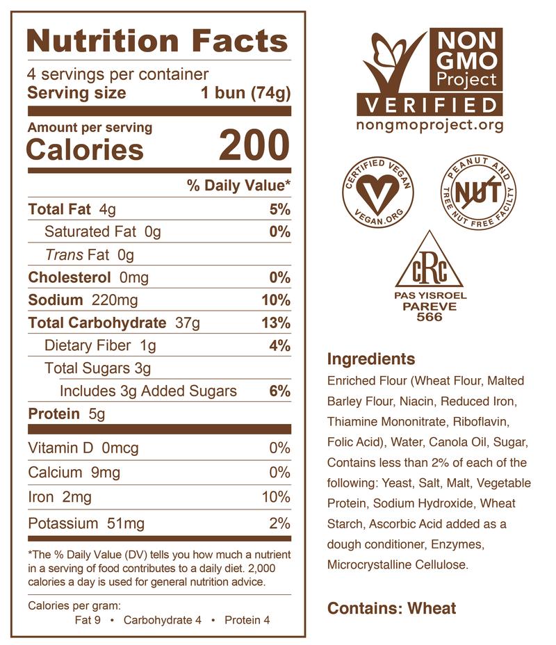 Pretzilla Sausage Nutrition