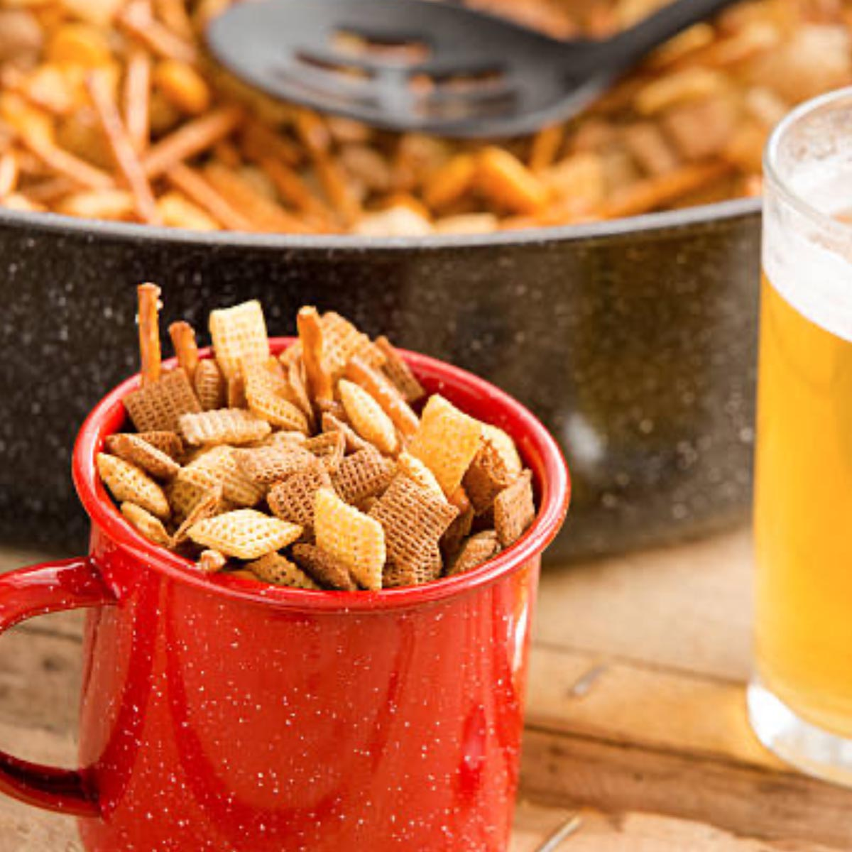 Sweet Ali's Tempe Snack Mix Plated