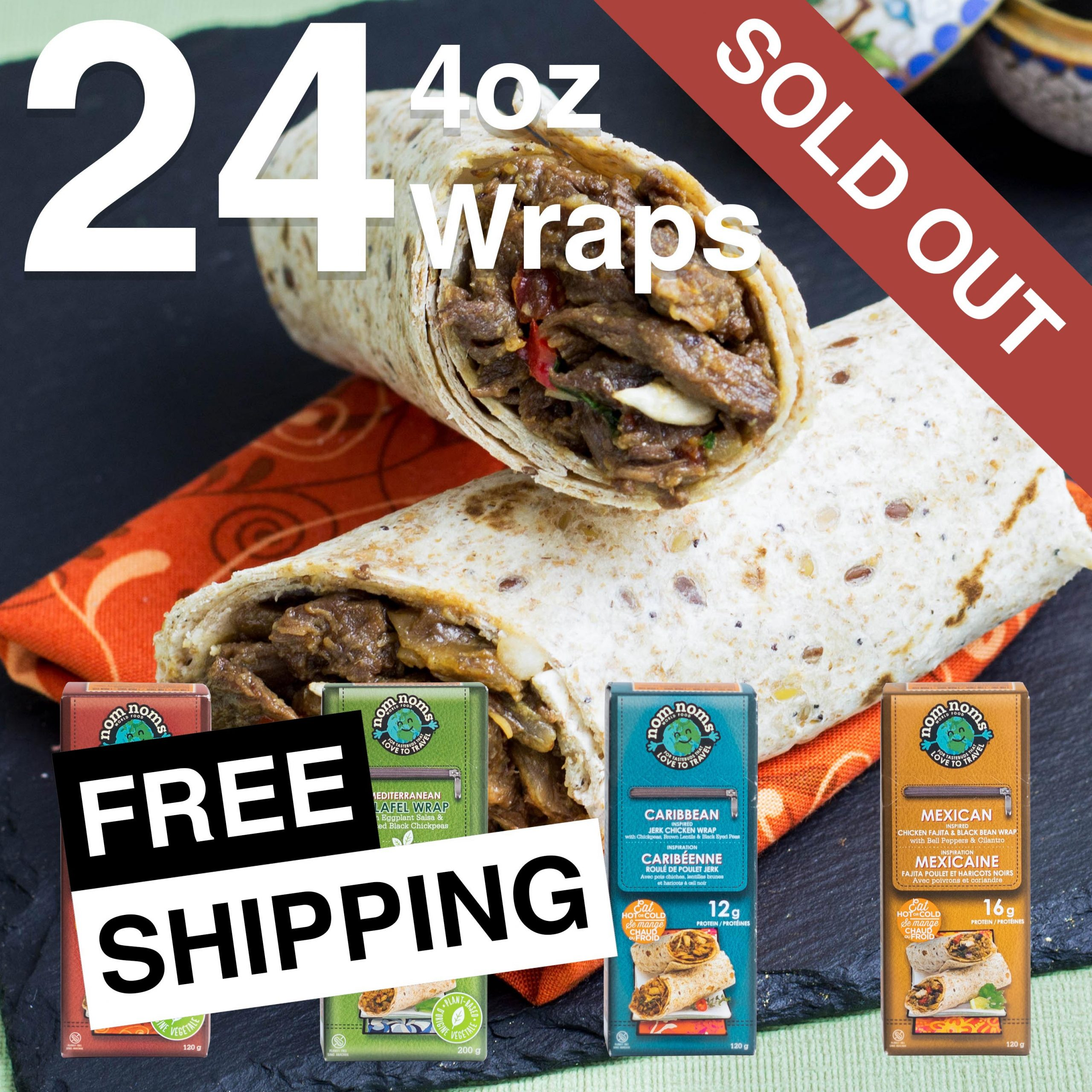24 4oz Wraps Feature Sold Out