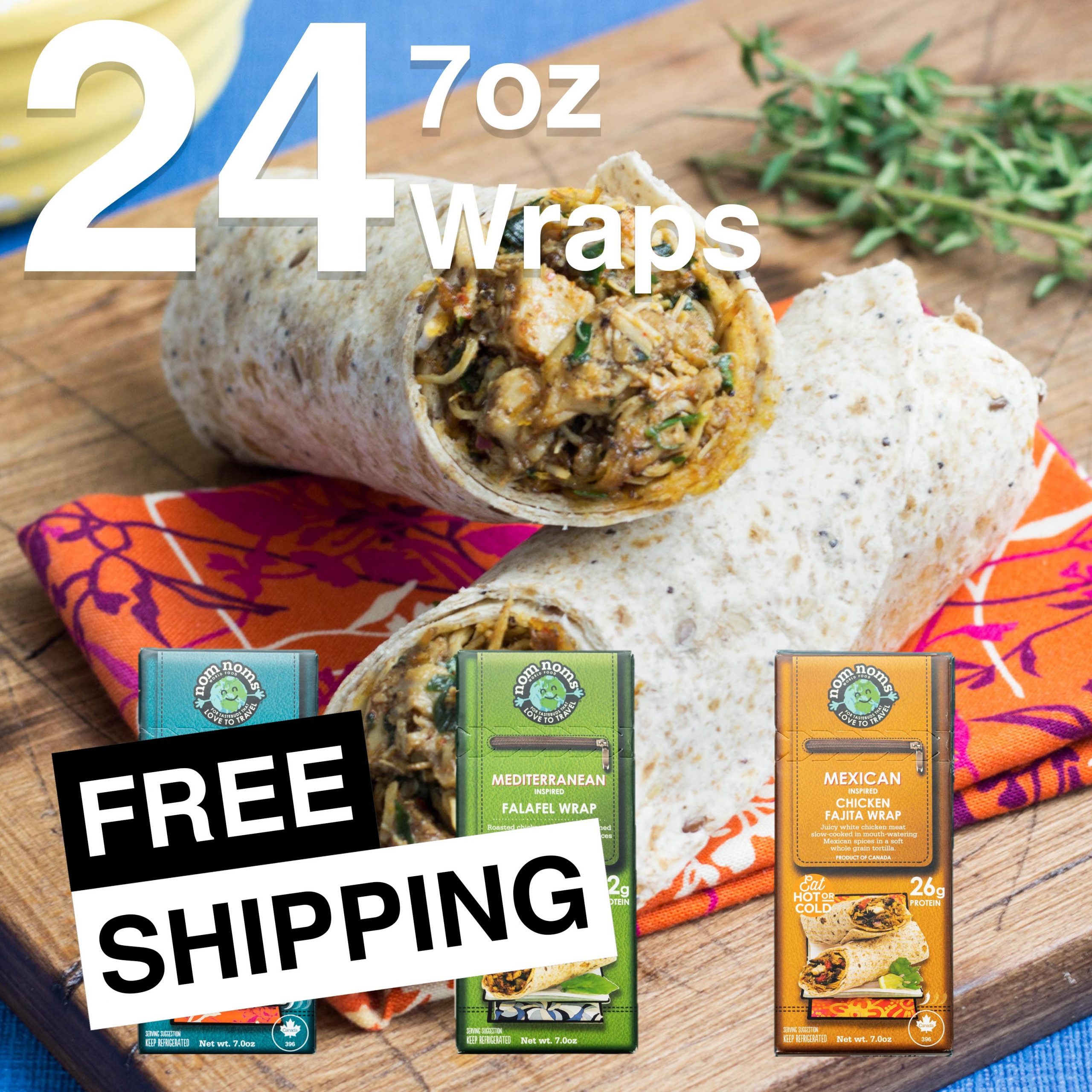 24 7oz Wraps 3 Flavors Feature