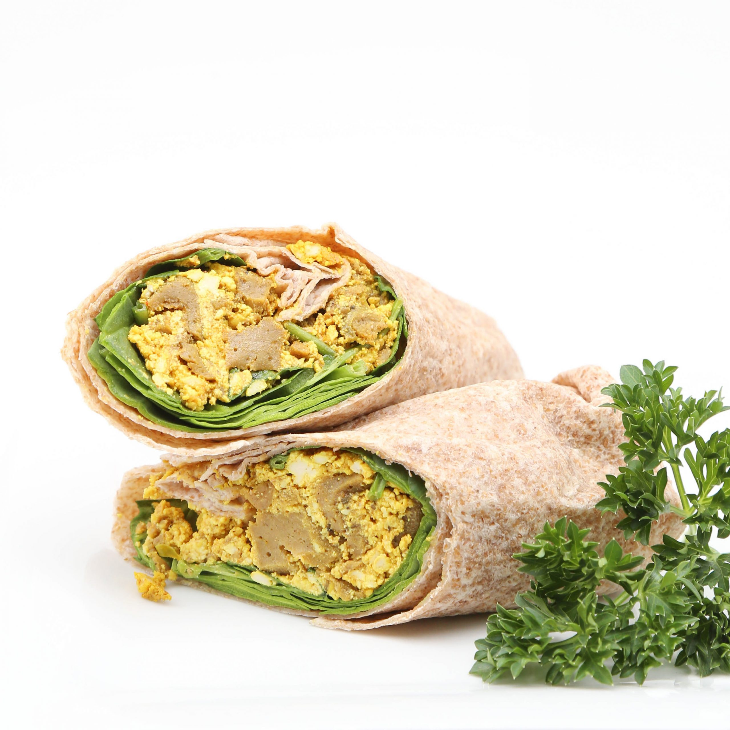 Underground Vegan Steak Tofu Breakfast Burrito