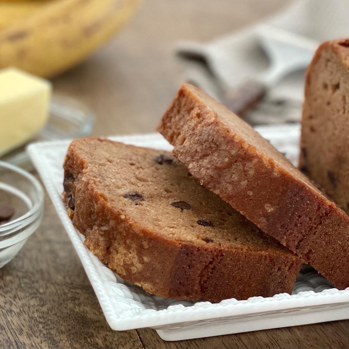 Chocolate Chip Banana Square 5