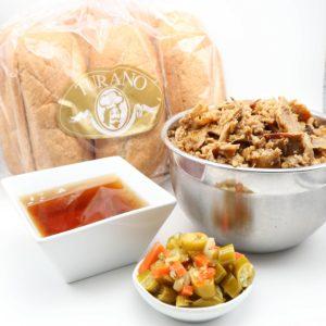 Underground Vegan Italian Beef Combo Pack