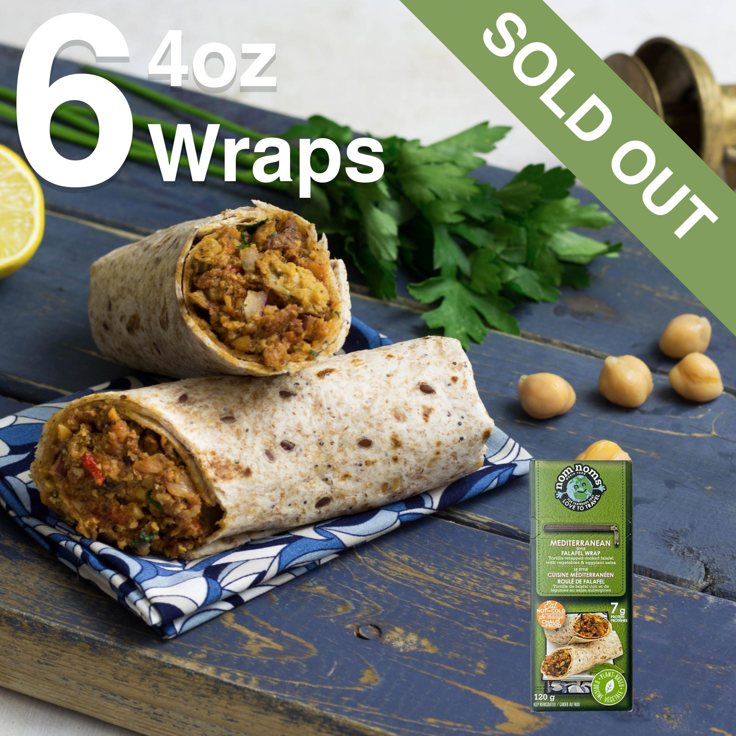 Mediterranean Falafel Bundle 6 4oz Sold Out
