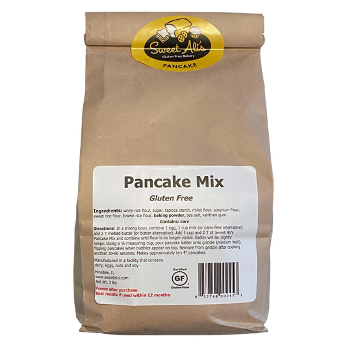 Pancake Mix Packaged Square
