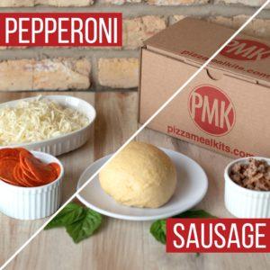 Pizza Meal Kits - Sausage & Pepperoni Pizza Bundle