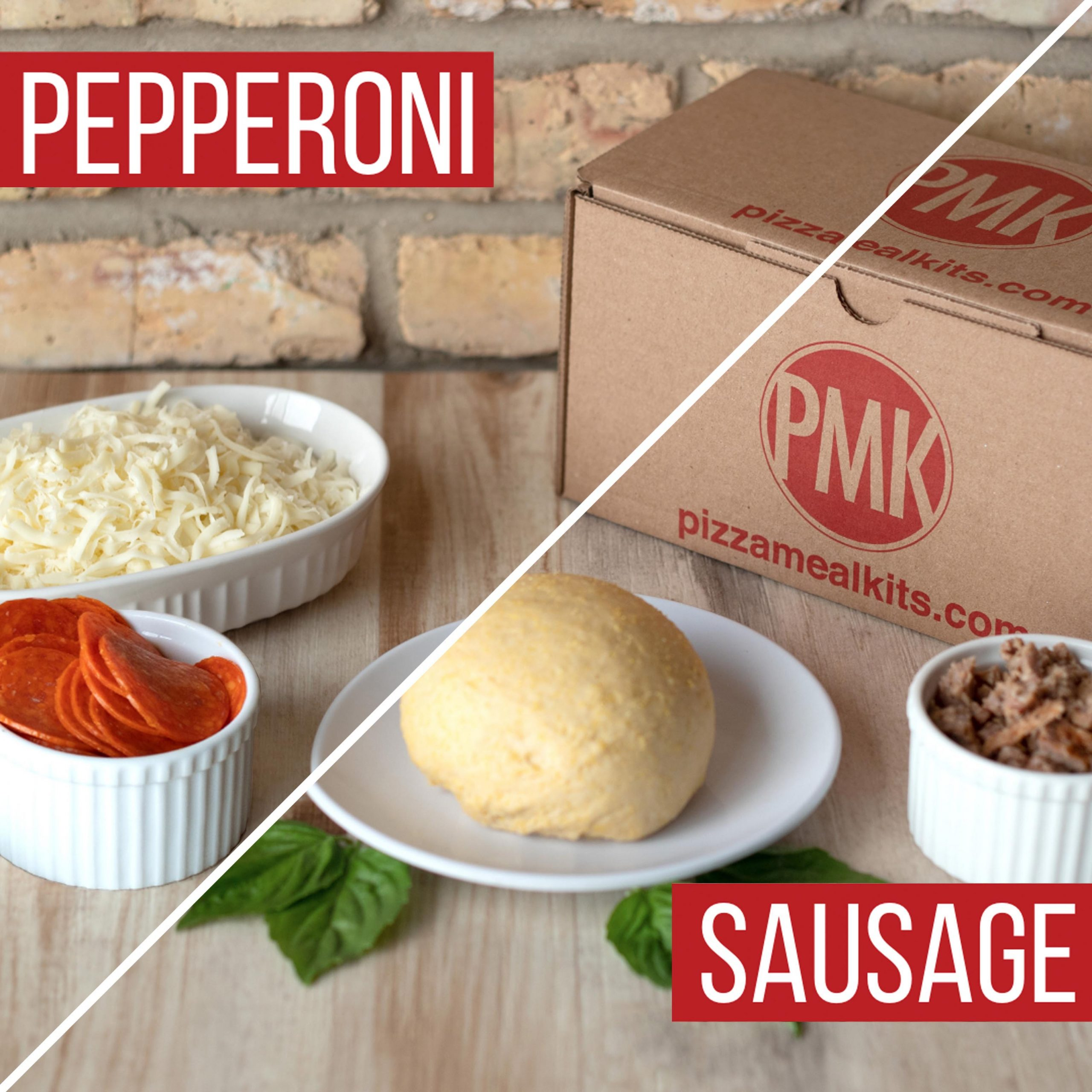 Pizza Meal Kits - Sausage & Pepperoni Pizza Bundle