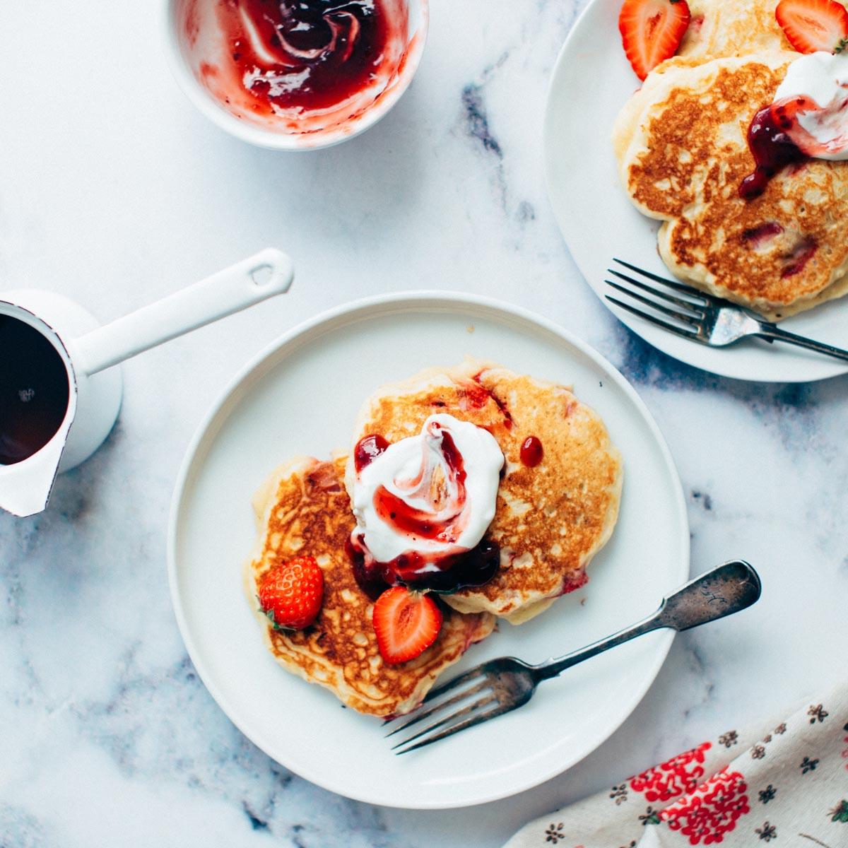 Sweet Ali's Pancake Mix Plated 1