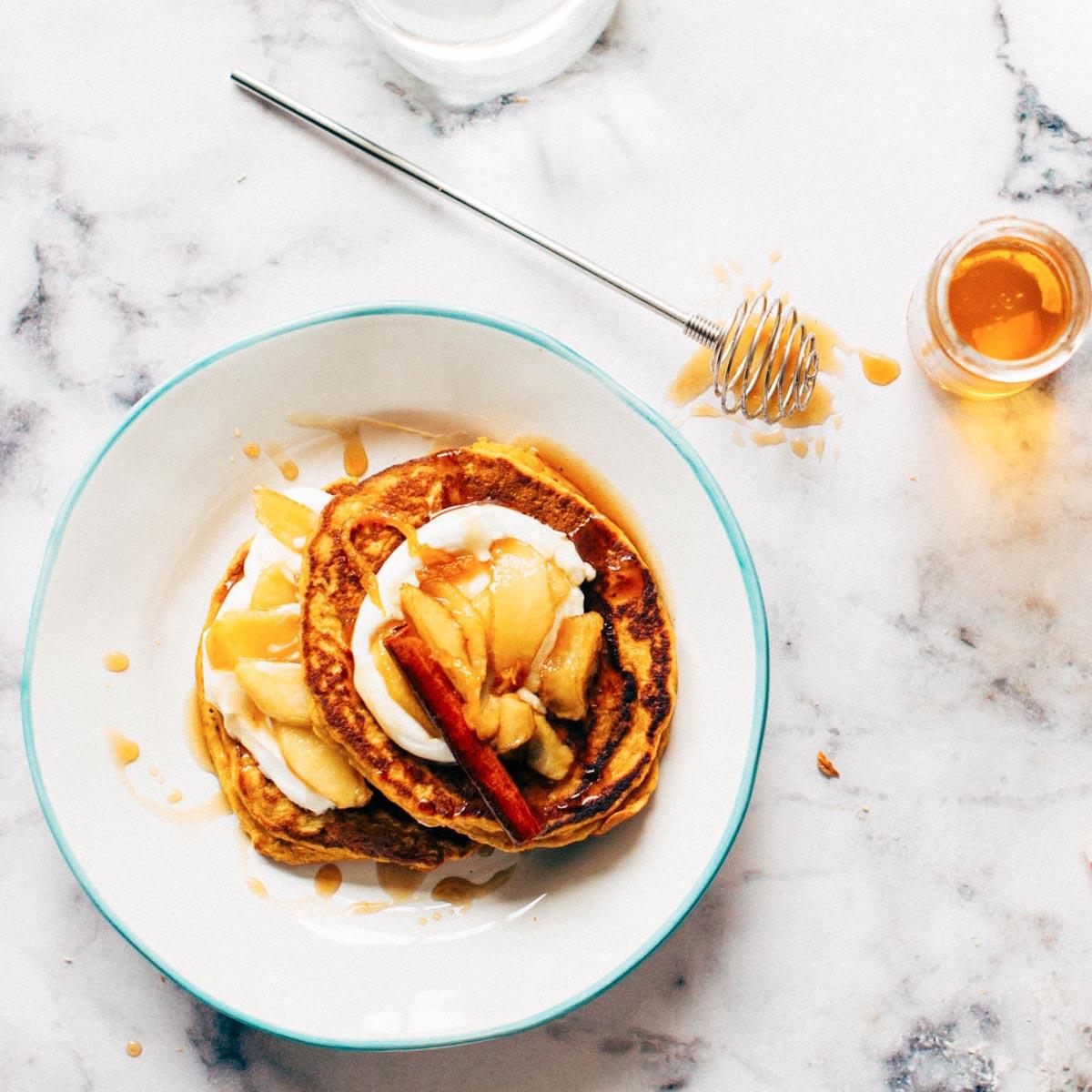 Sweet Ali's Pancake Mix Plated 2