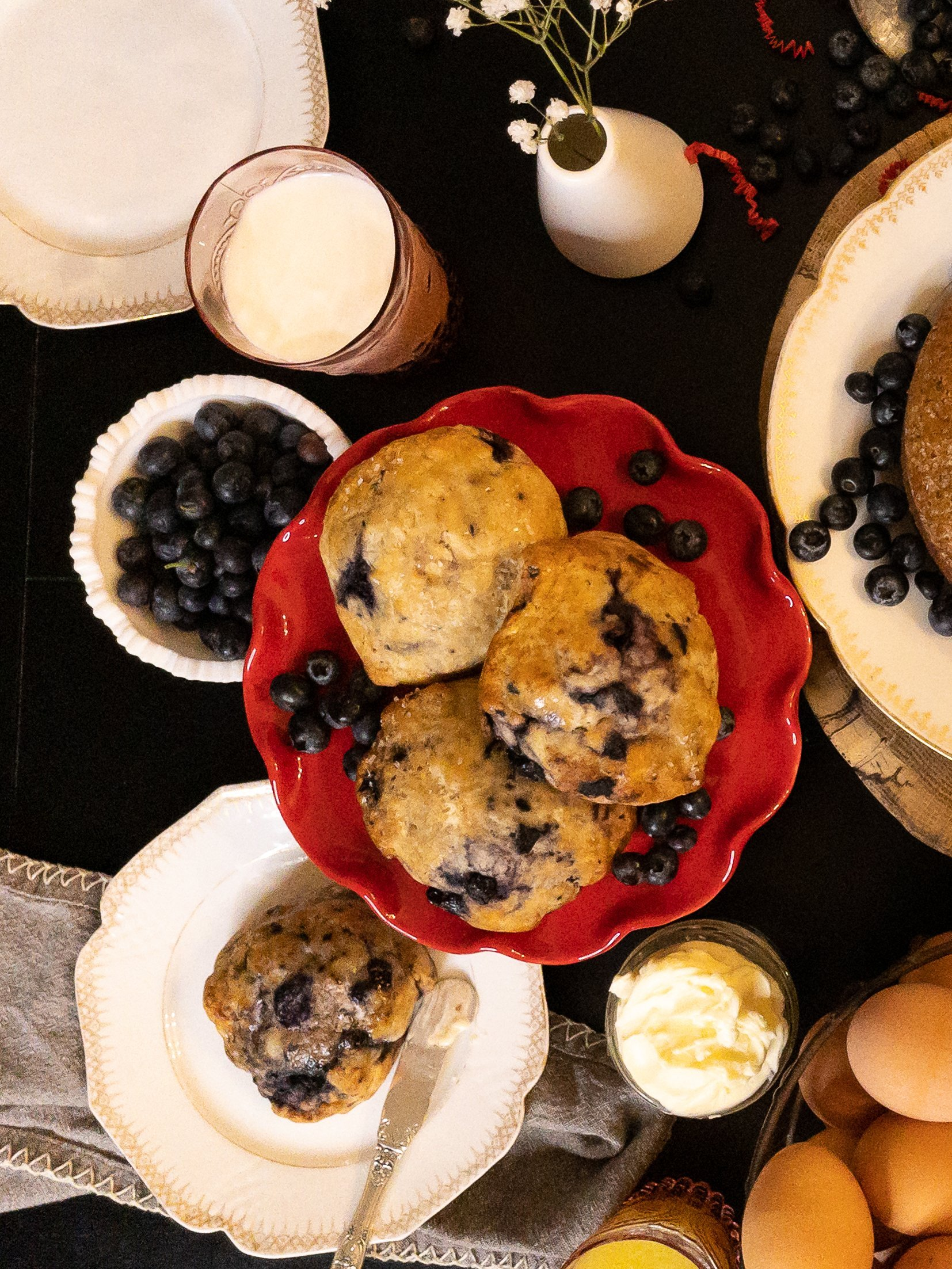 Hot Cakes Very Blueberry Scones 4