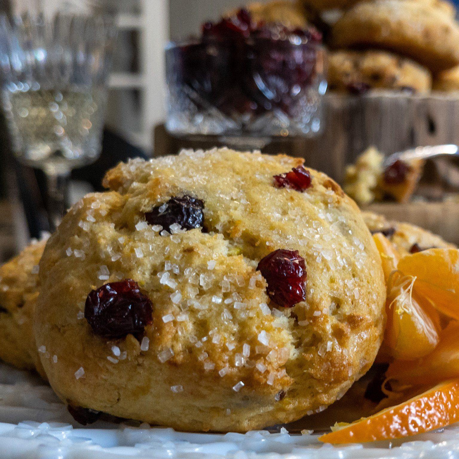 Hot Cakes Cranberry Orange Scones 2