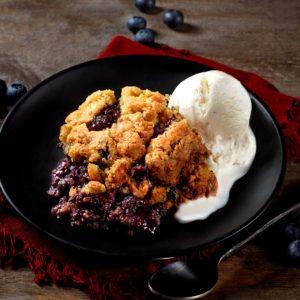 Blueberry Cobbler Feature