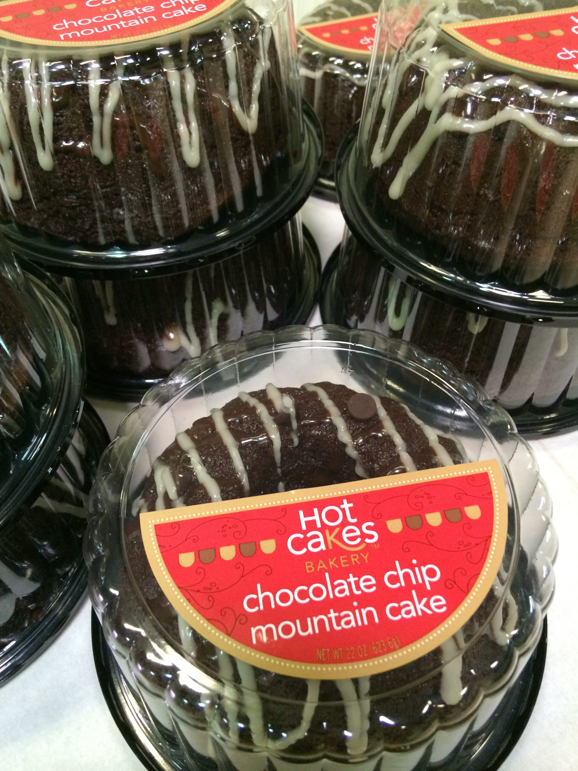 Hot Cakes Bakery - Chocolate Mountain Cake Packaged